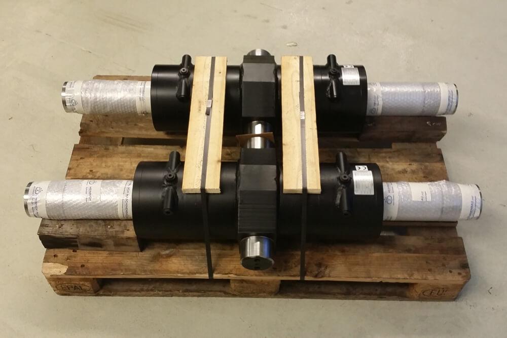 Ansicht Hydraulikzylinder
